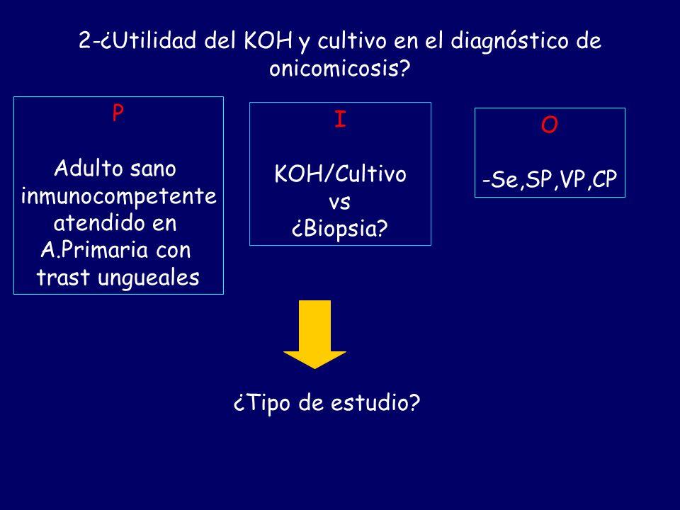 1-¿Cuál es la etiología de los trastornos ungueales en el adulto sano inmunocompetente? P Adulto sano inmunocompetente en Atención Primaria I Trastorn