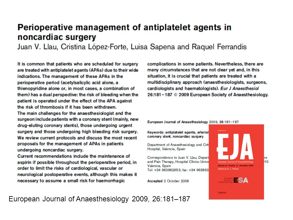 Impact of Prior Use or Recent Withdrawal of Oral Antiplatelet Agents on Acute Coronary Syndromes J.P.