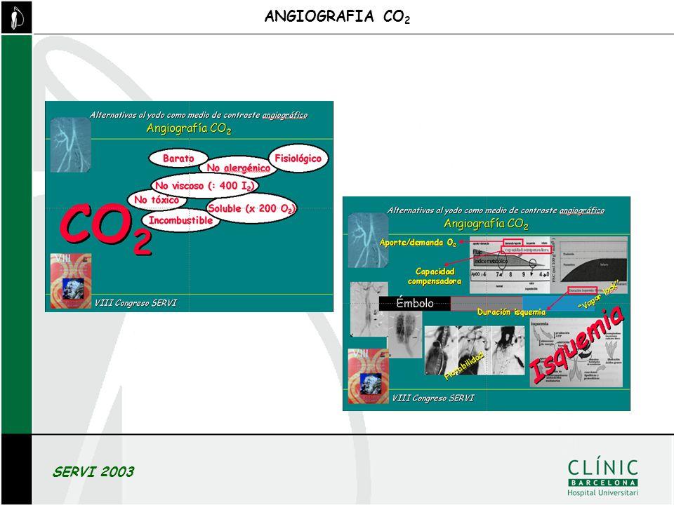 ANGIOGRAFIA CO 2 SERVI 2003