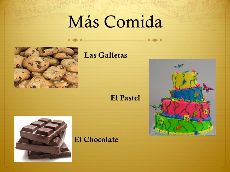 Más Comida Las Galletas El Pastel El Chocolate
