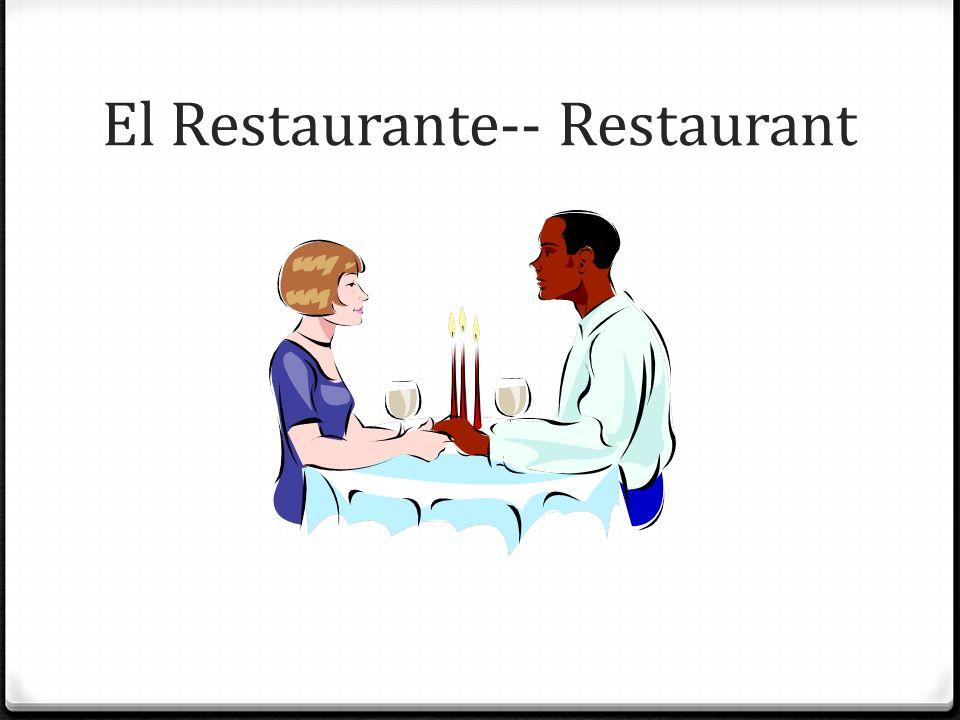 El Restaurante-- Restaurant