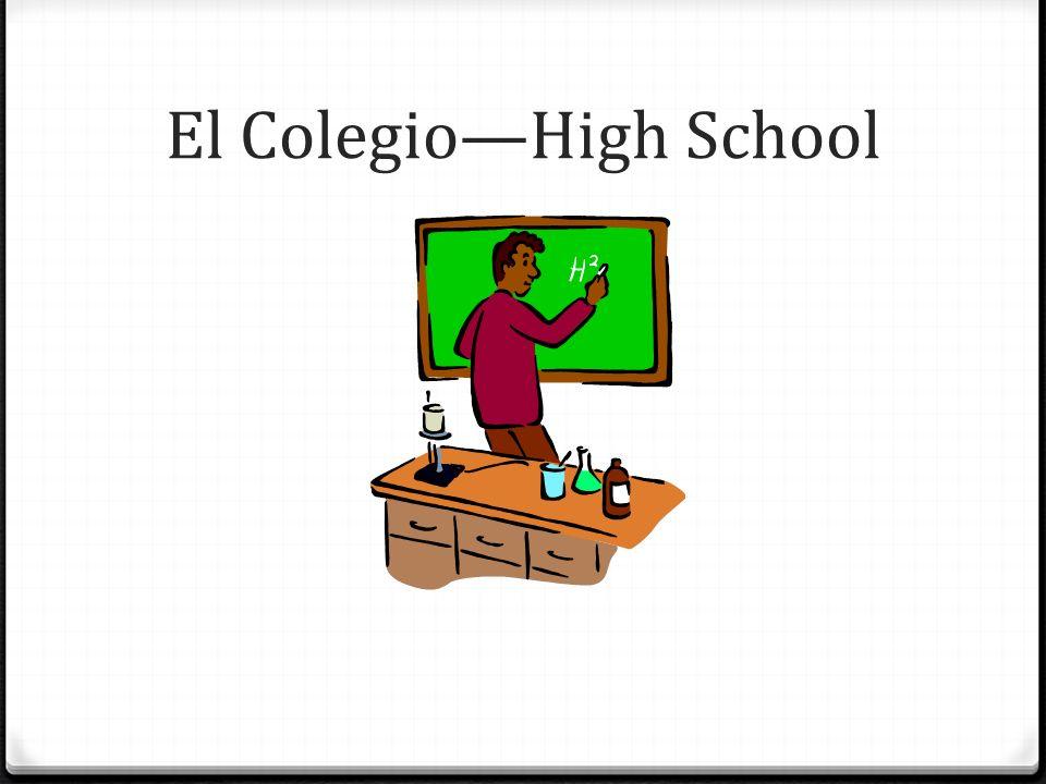 El ColegioHigh School