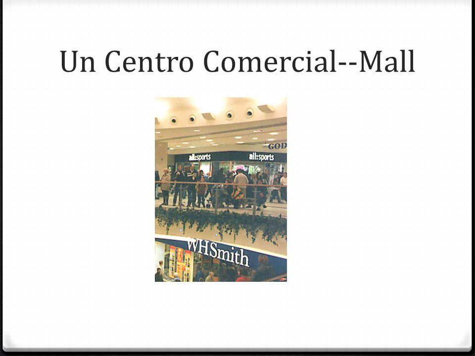 Un Centro Comercial--Mall