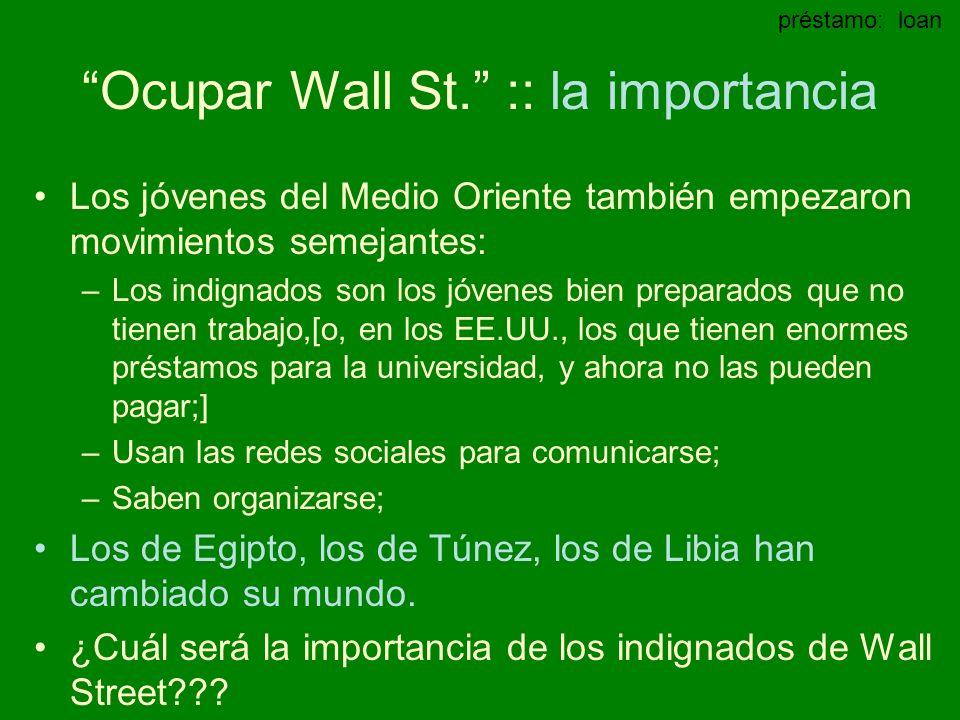 Ocupar Wall St.
