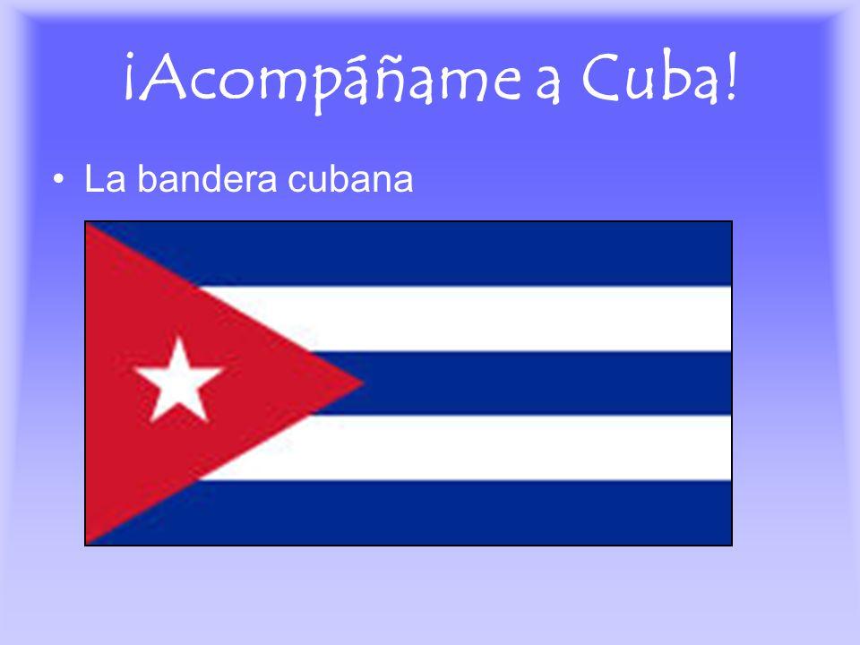 ¡Acompáñame a Cuba! La bandera cubana