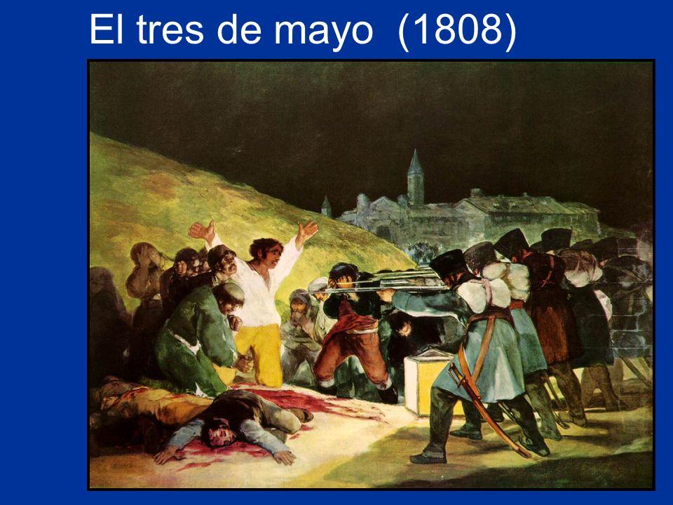 Para Goya, ¿qué simboliza la luz.¿Quién está en la luz.