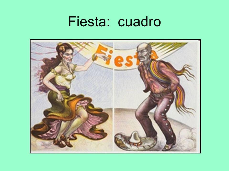 Fiesta: cuadro