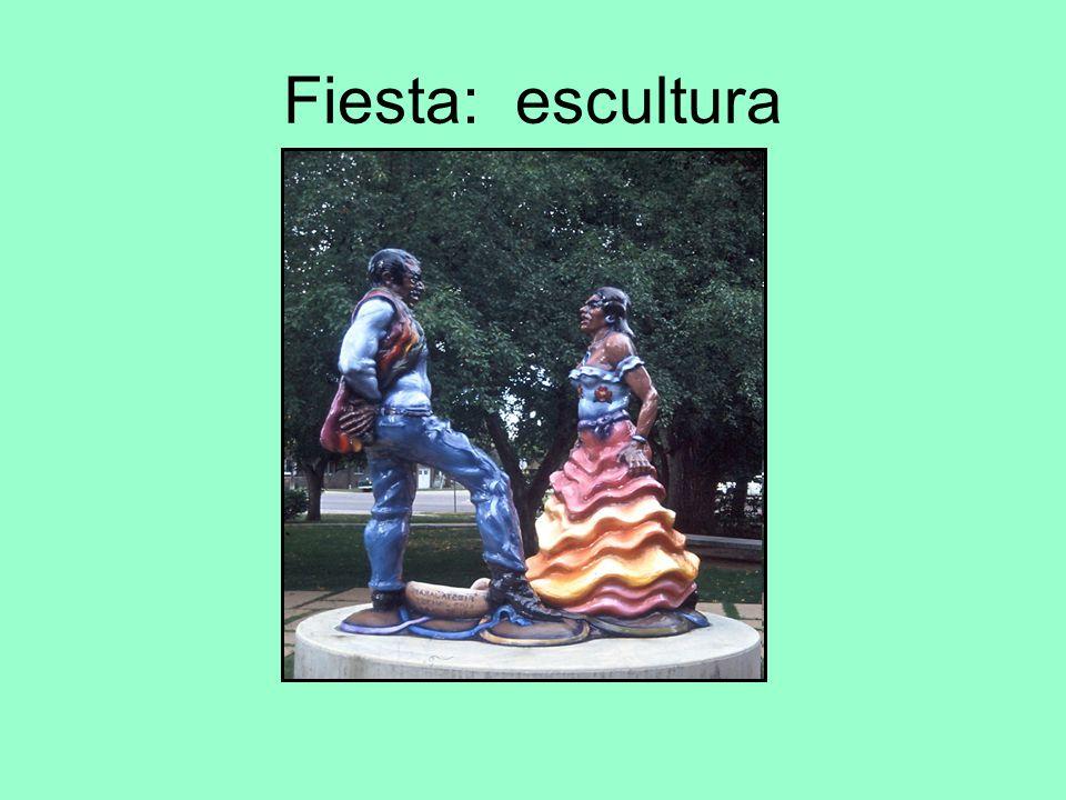 Fiesta: escultura
