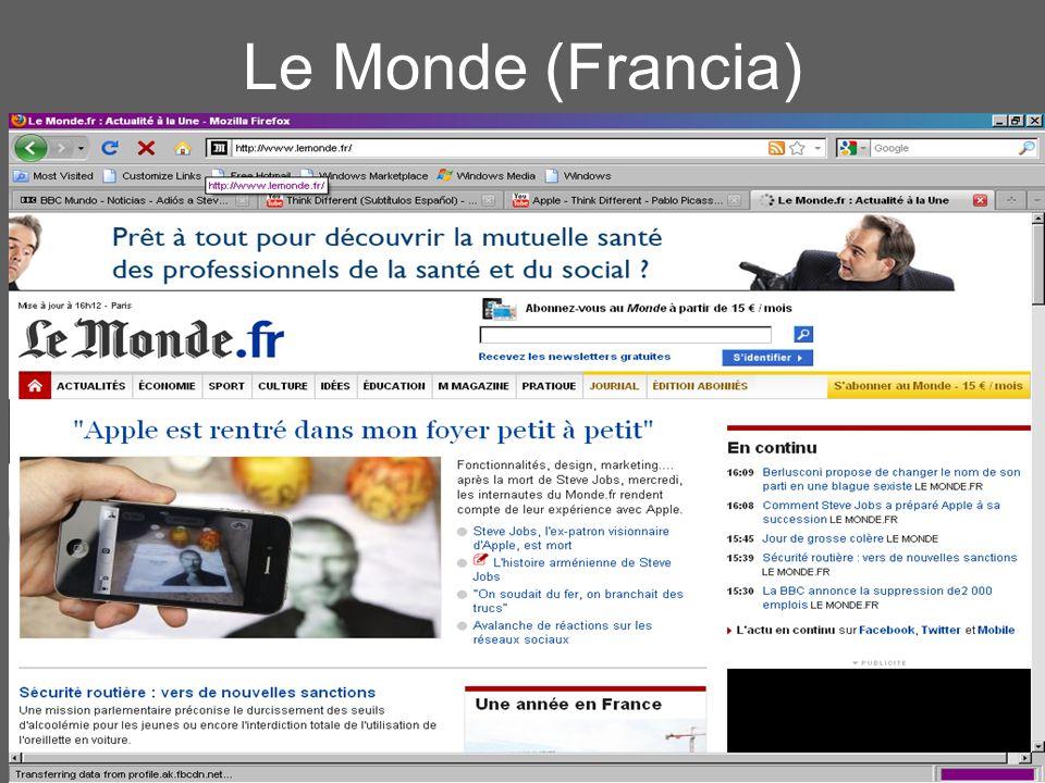 CRS :: NSHS 2011 Le Monde (Francia)