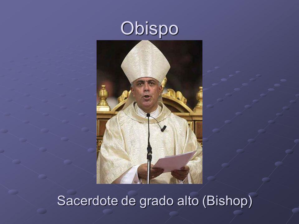 Obispo Sacerdote de grado alto (Bishop)