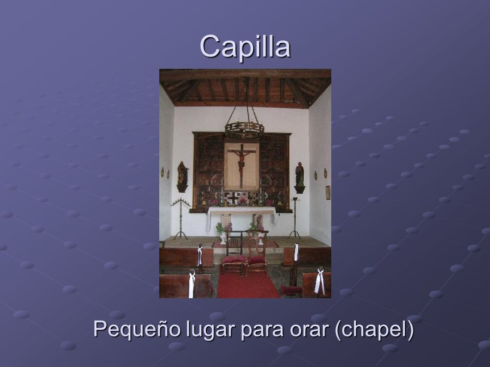 Capilla Pequeño lugar para orar (chapel)