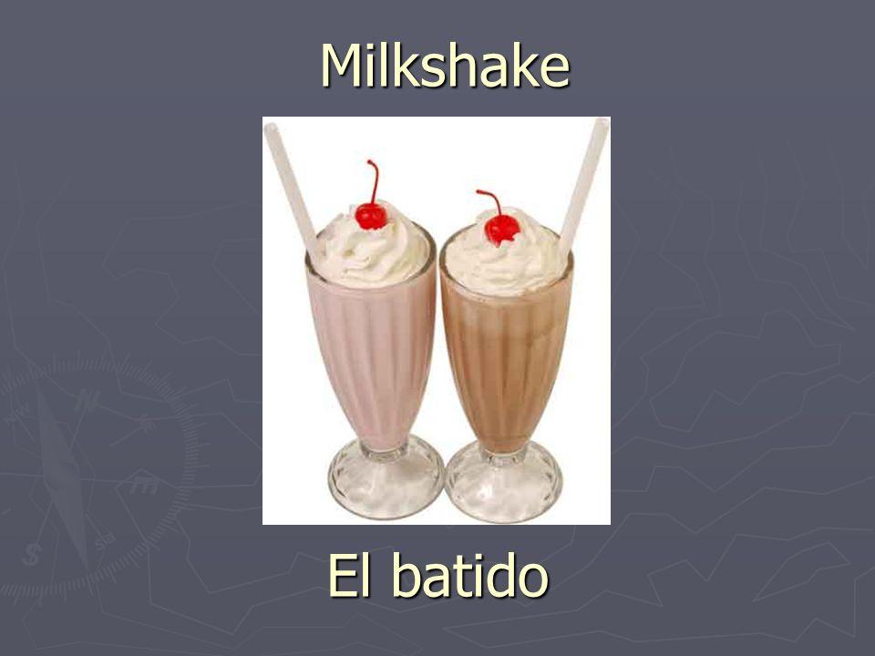 Milkshake El batido