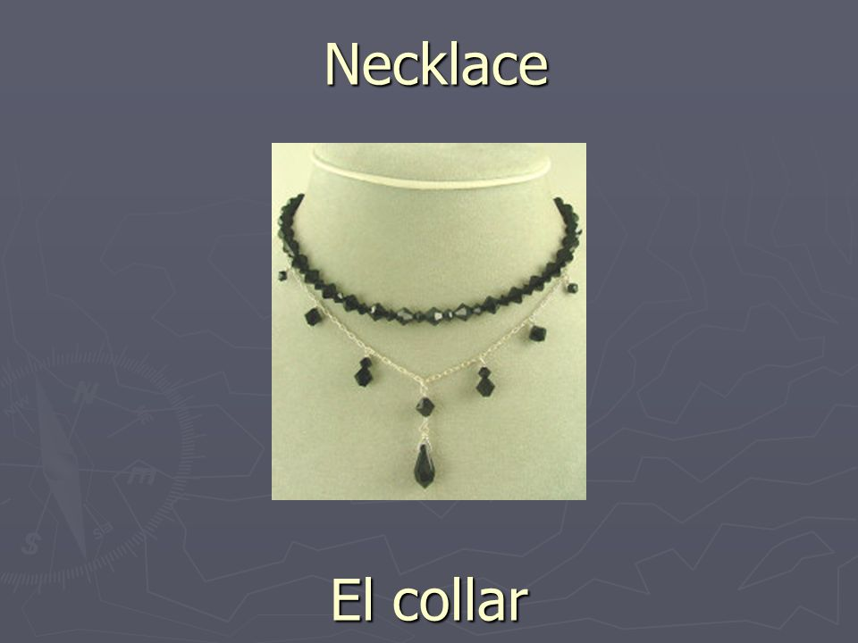 Necklace El collar