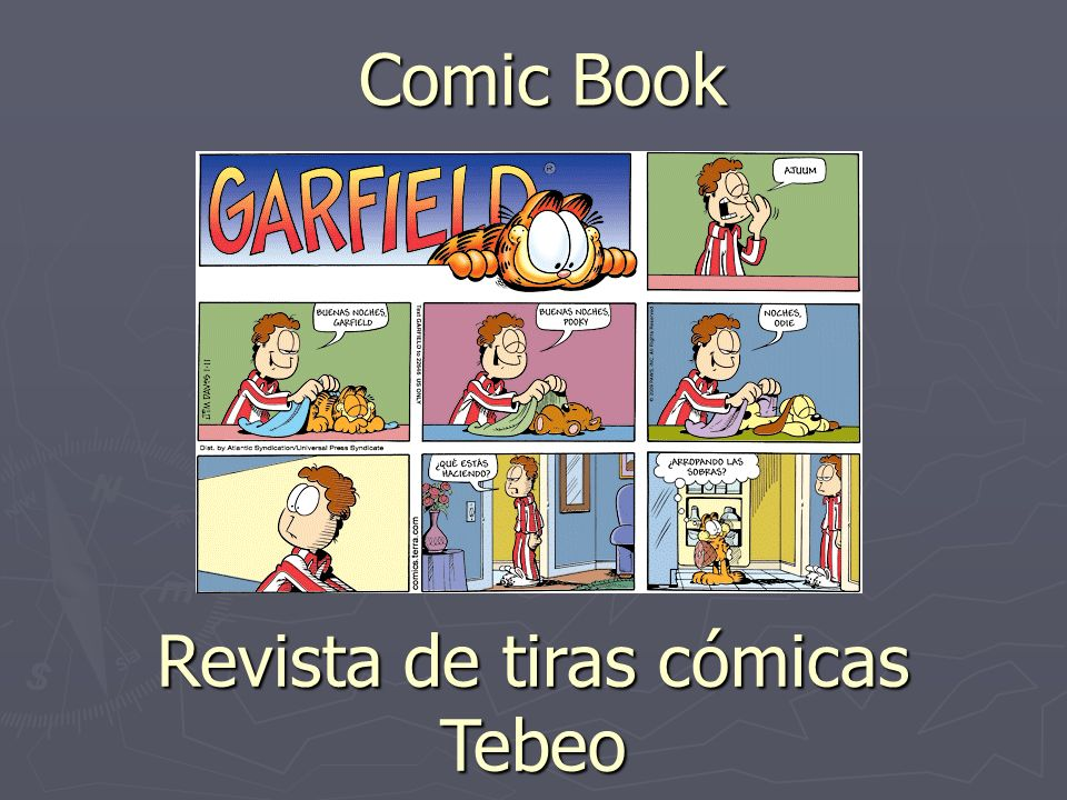 Comic Book Revista de tiras cómicas Tebeo