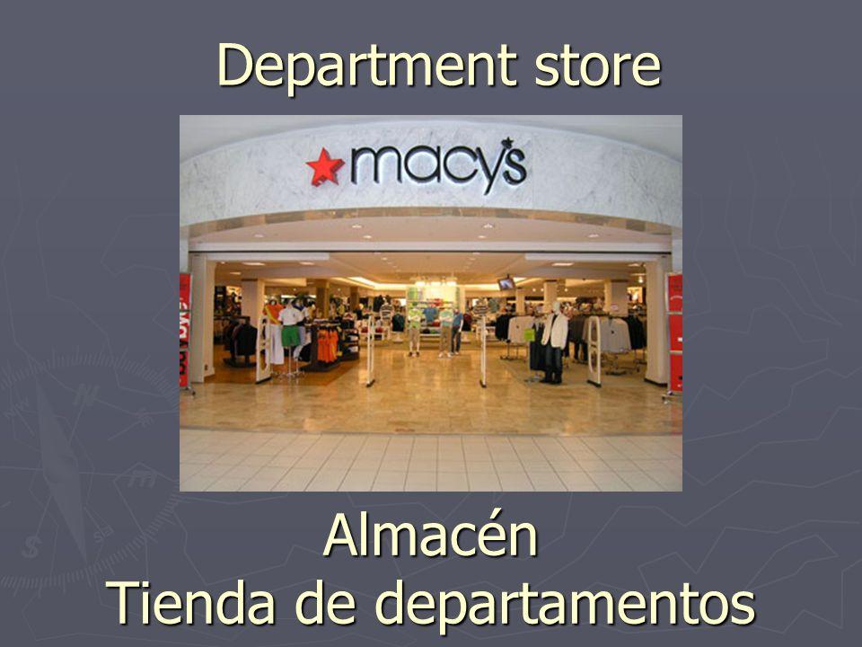 Department store Almacén Tienda de departamentos