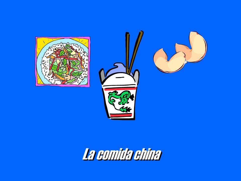 La comida china