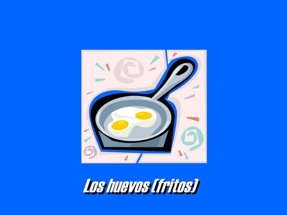 Los huevos (fritos)