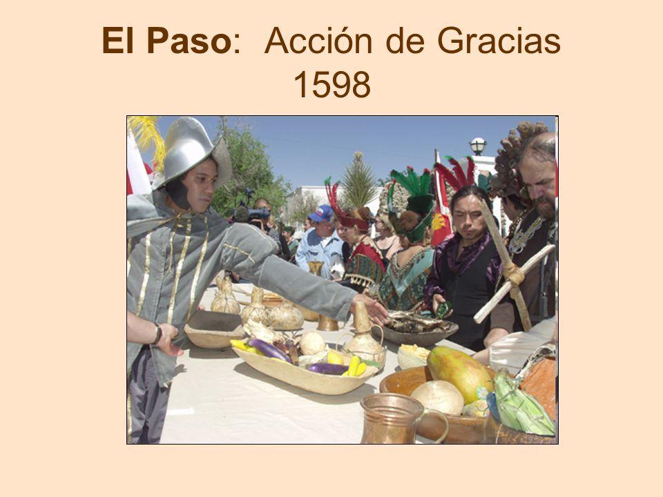 El Paso: Acción de Gracias 1598