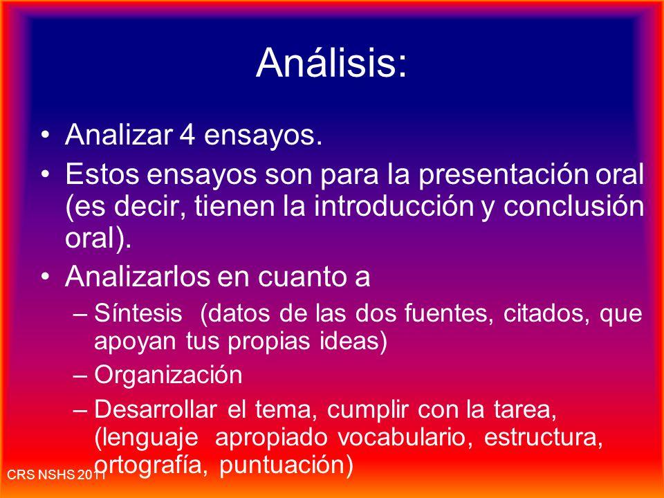 CRS NSHS 2011 El nivel del idioma El nivel del idioma: (en inglés: register) ejemplos: Errores entre tú y Usted (Se puede usar el voseo en vez del tut