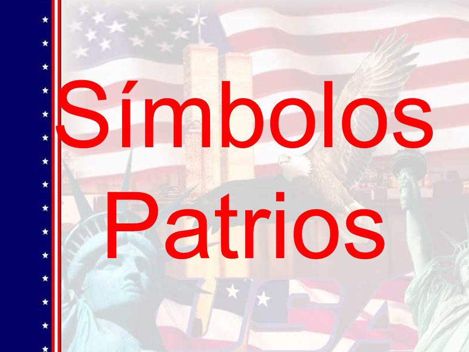 La bandera de Estados Unidos La bandera es el símbolo mas antiguo de nuestro país.