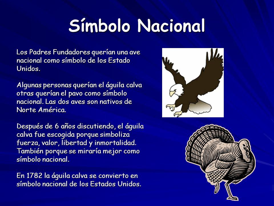 La águila calva se encuentra en muchos objetos.