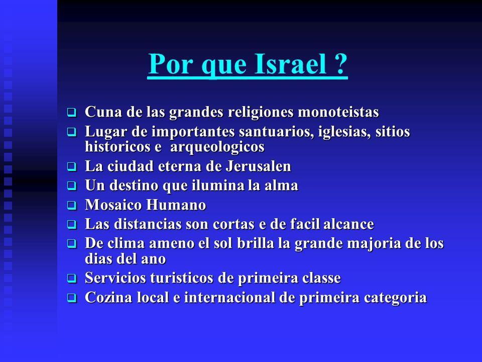 ISRAEL La Tierra Santa La Tierra Santa Descubra el mundo de la Biblia Un pequeno pais… Una grande historia…
