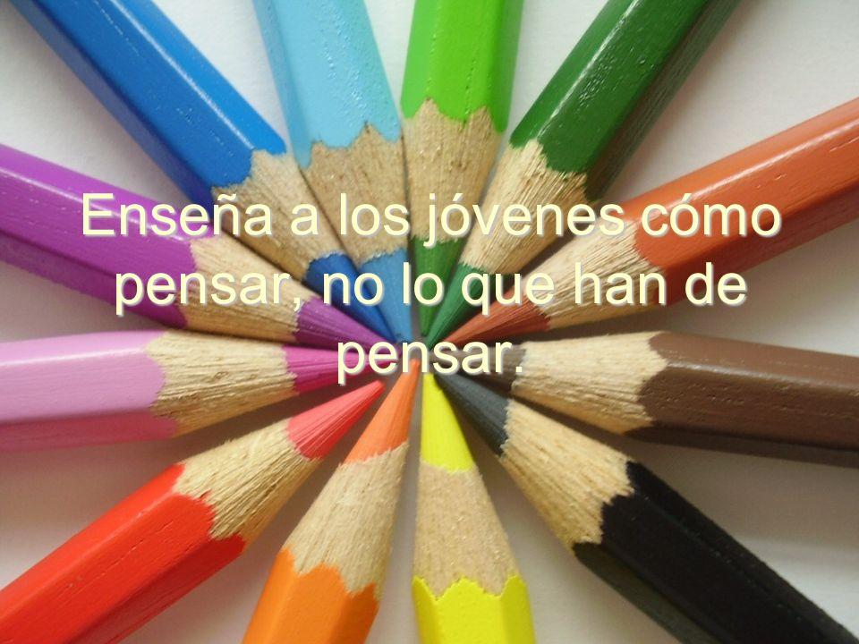La educación no es preparación para la vida, es la vida misma.