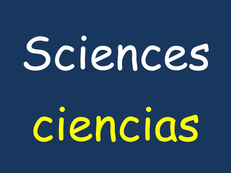 Sciences ciencias