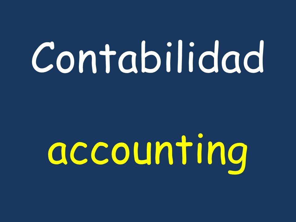 Contabilidad accounting