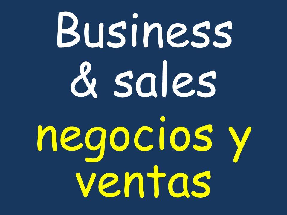 Business & sales negocios y ventas