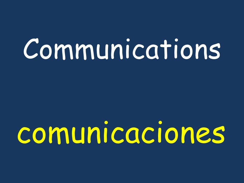 Communications comunicaciones