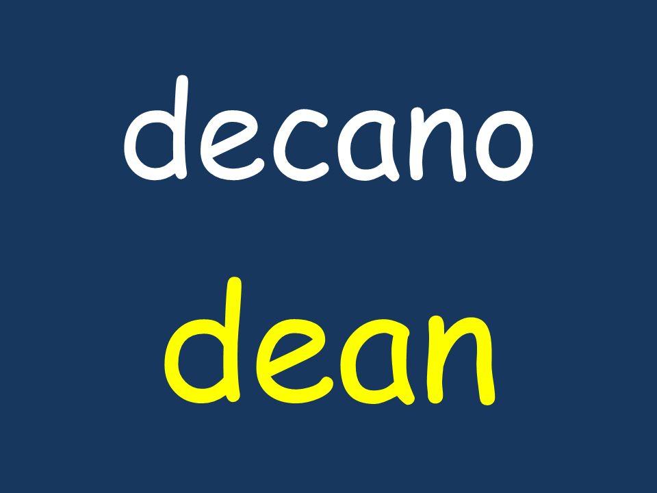 decano dean