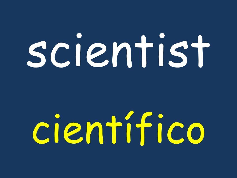 scientist científico