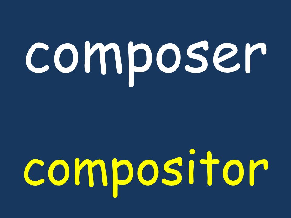composer compositor