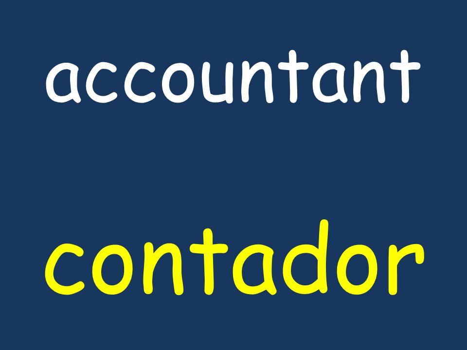 accountant contador