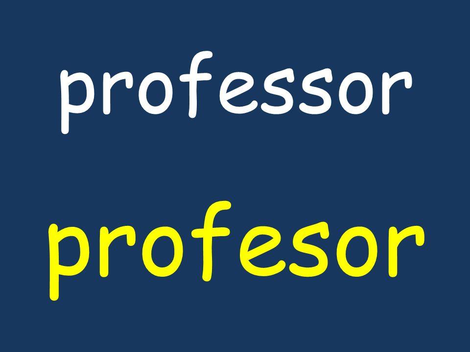 professor profesor