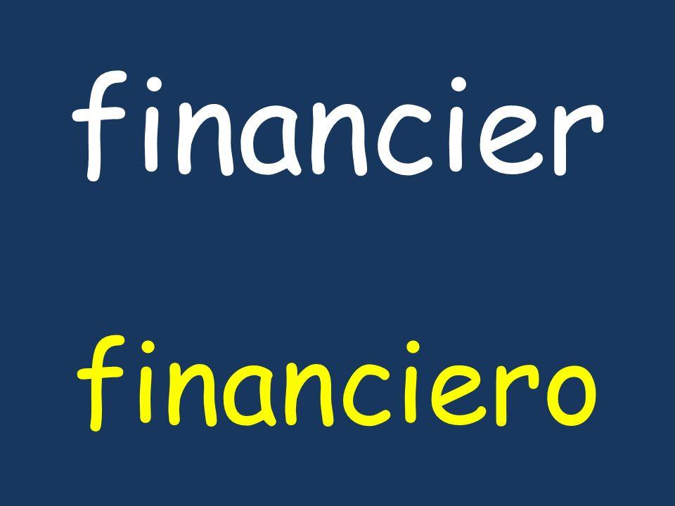 financier financiero