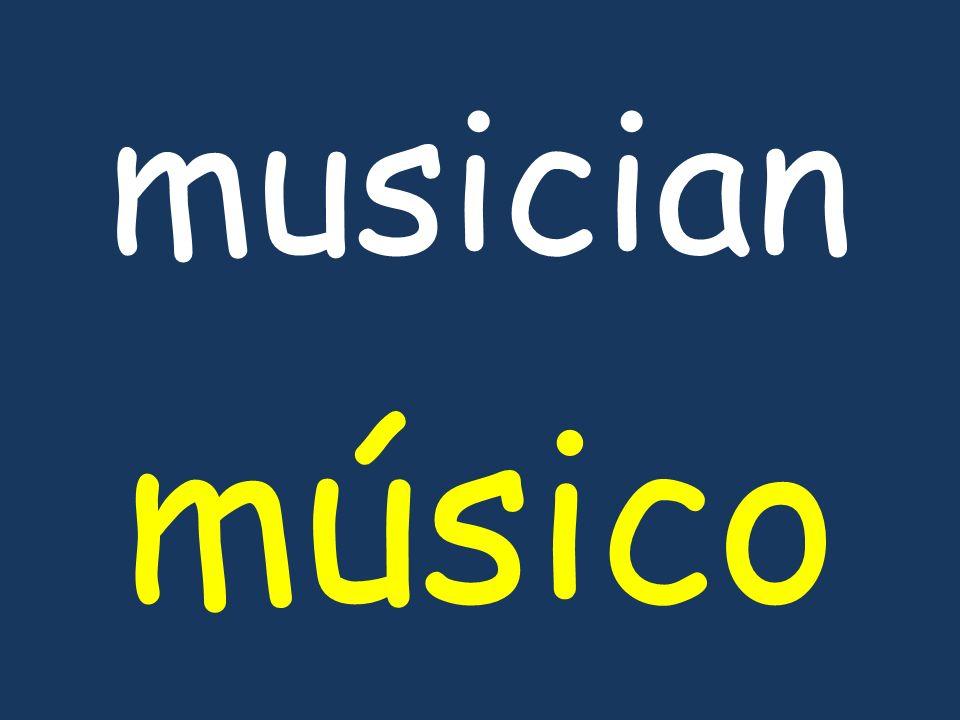 musician músico