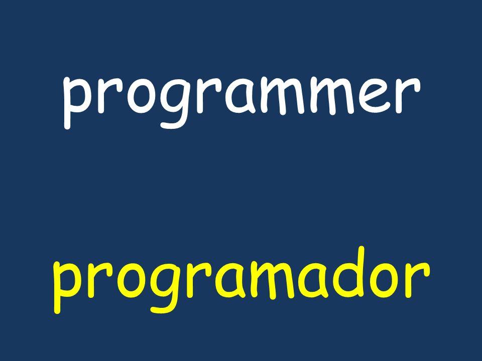 programmer programador