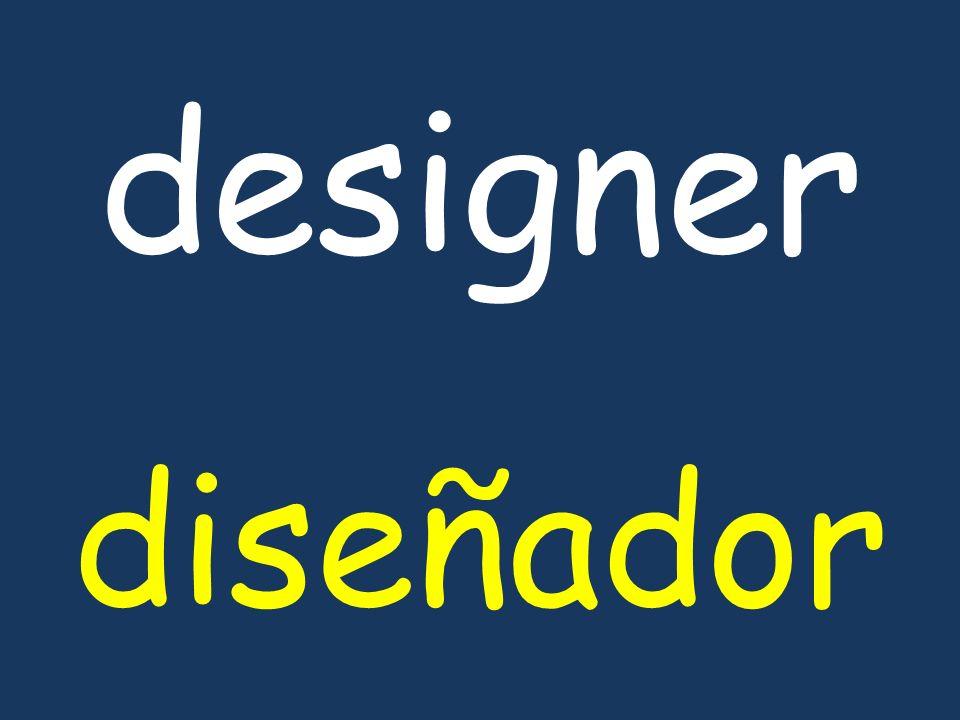 designer diseñador