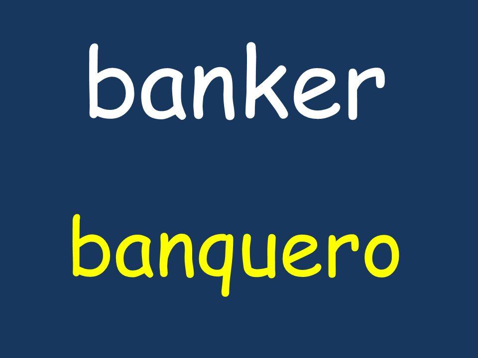 banker banquero