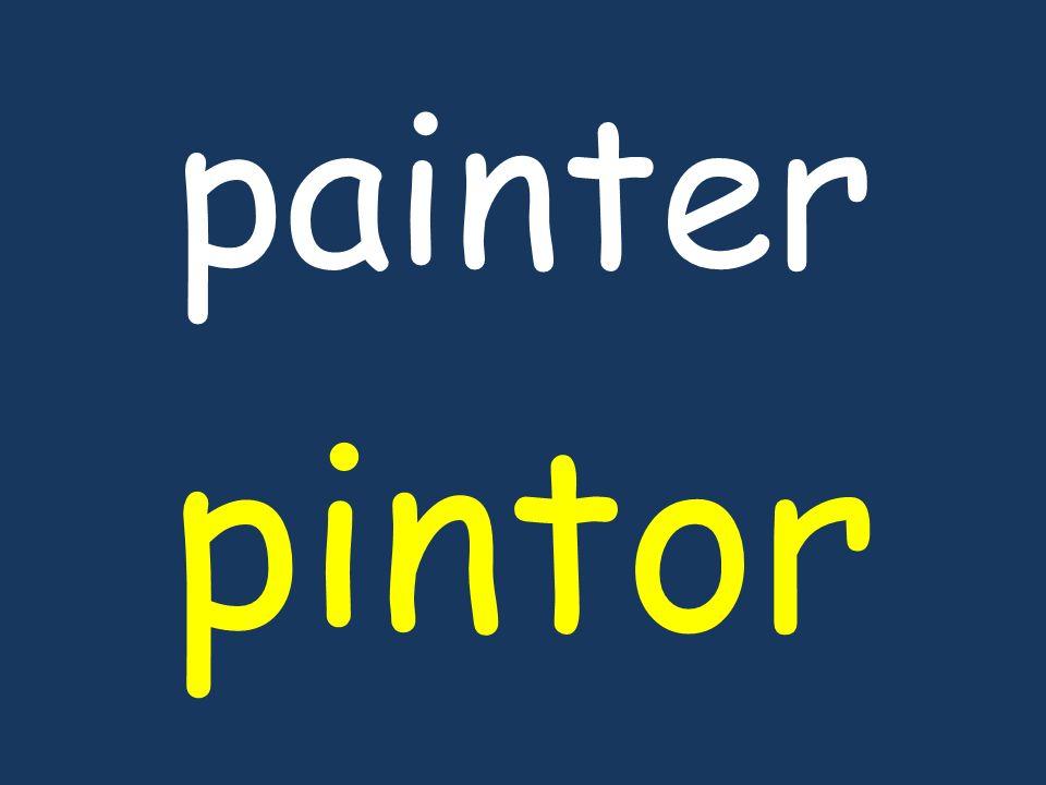 painter pintor