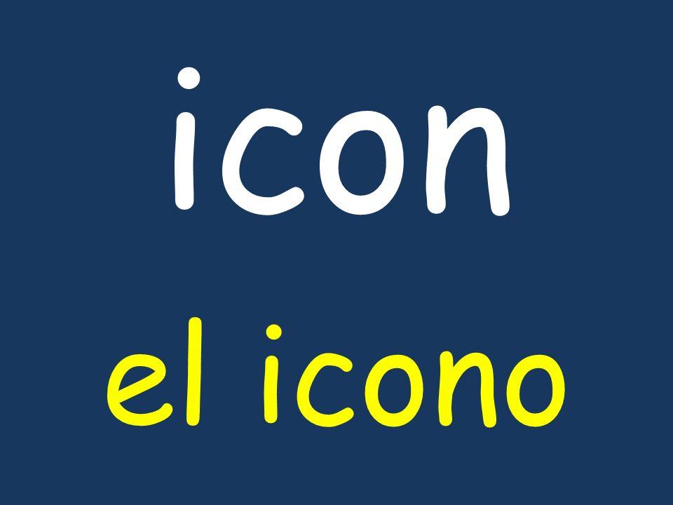 icon el icono