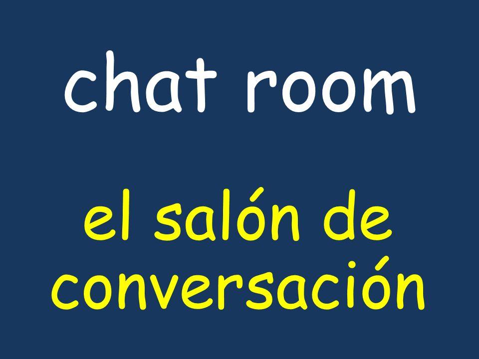 chat room el salón de conversación