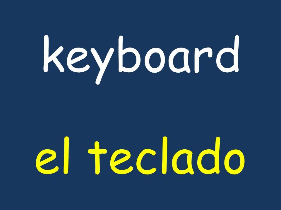 keyboard el teclado