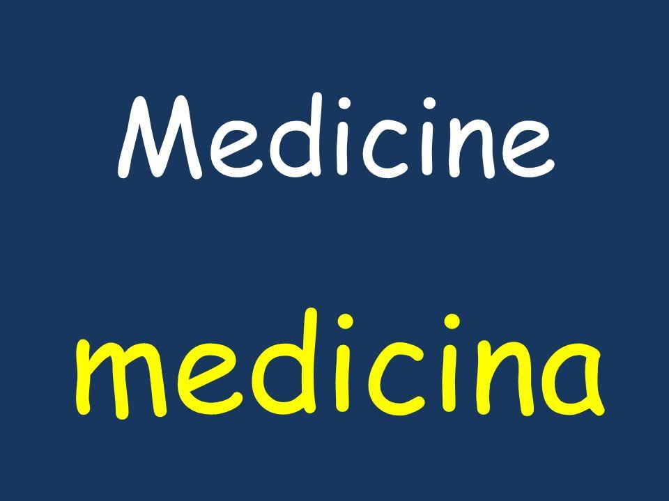 Medicine medicina