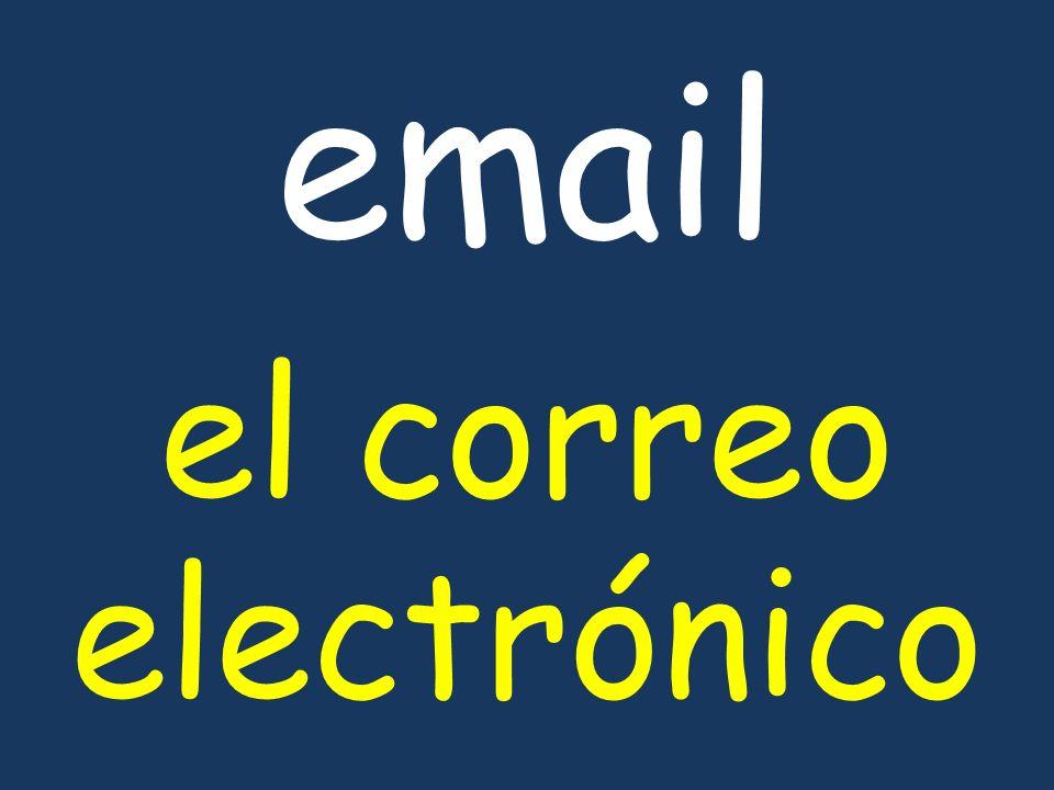 email el correo electrónico