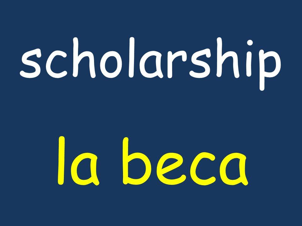 scholarship la beca