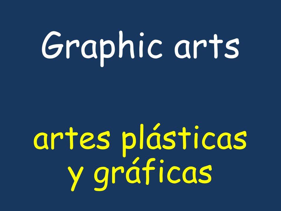 Graphic arts artes plásticas y gráficas