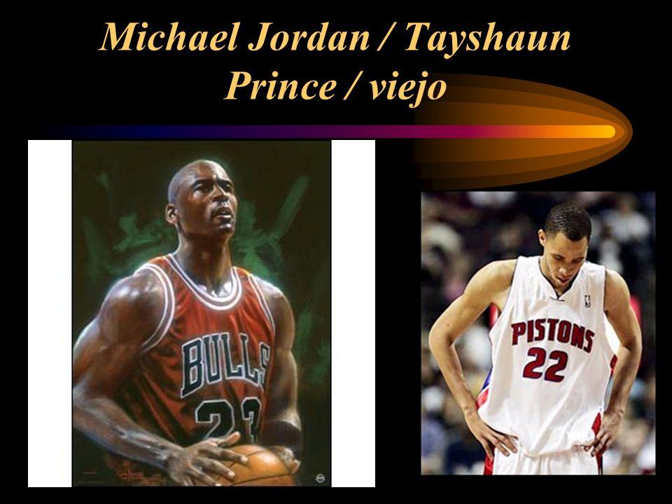 Michael Jordan / Tayshaun Prince / viejo